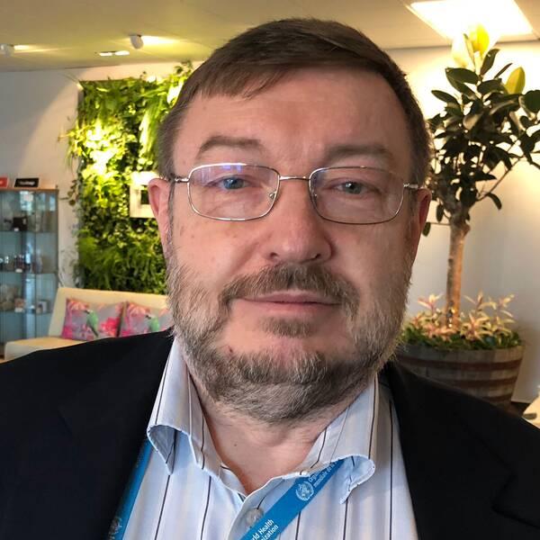 Lars Björndahl, överläkare vid Karolinska Universitetssjukhus.