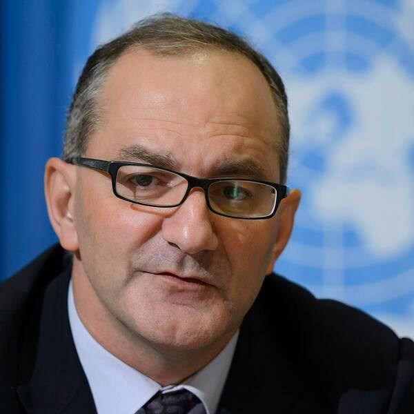 WHO:s chef för nödutryckningar, Peter Salama.