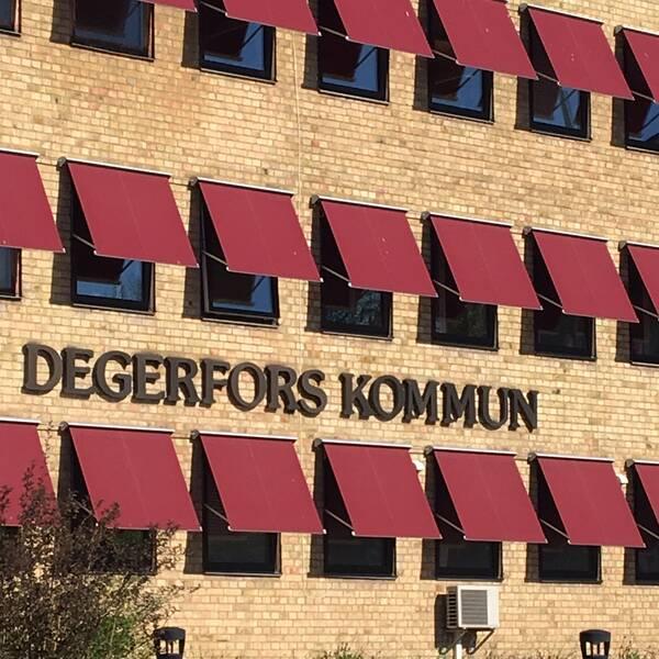 Degerfors kommunhus, kommunhuset Torget i Degerfors