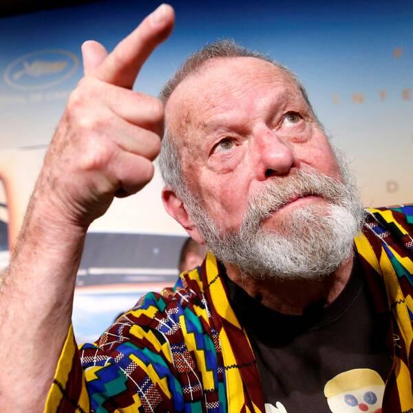 """Regissören Terry Gilliam premiärvisade """"The man who killed Don Quixote"""" på filmfestivalen i Cannes."""