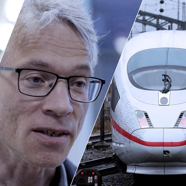 Se videon där forskare inom samma ämne kommer fram till helt olika slutsatser om tågen.