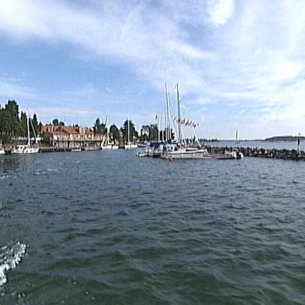 Fyruddens hamn Valdemarsviks kommun Gryt