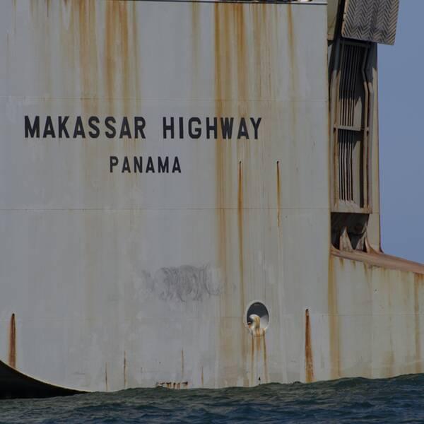 Fraktfartyget Makassar Highway.