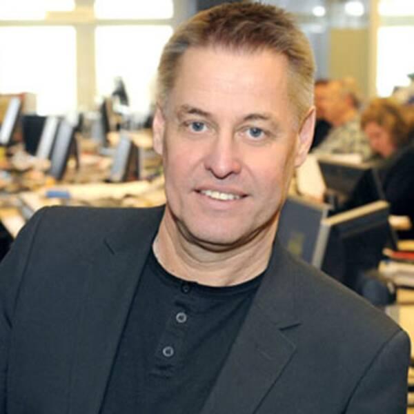 Ulf Johansson, ansvarig utgivare för Rapport, Aktuellt, text-tv och nyheterna på svt.se.