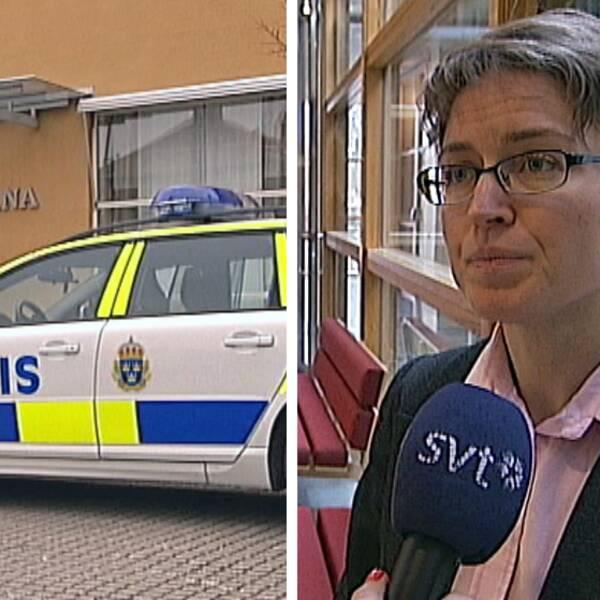 rättegång dubbelmordet i ljungsbro åklagare kajsa malmström