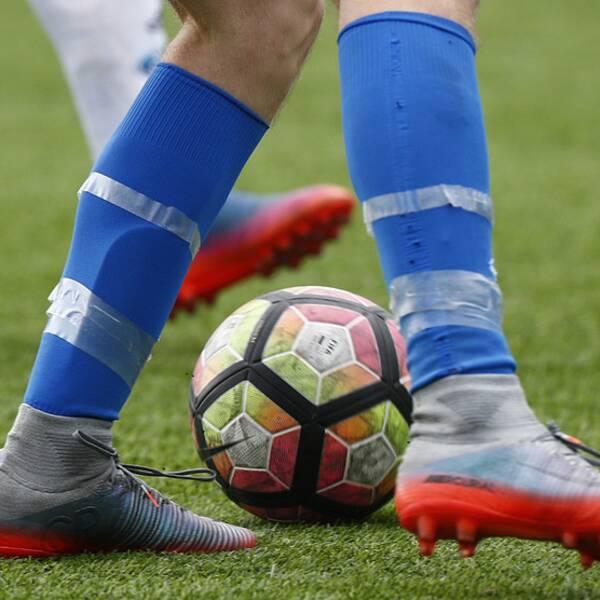 Fotboll, genrebild.