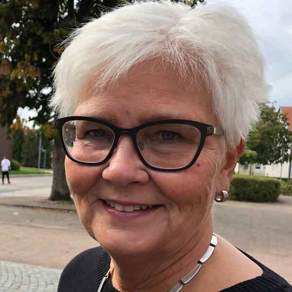 Carina Zachau (M), kollektivtrafiknämndens ordförande i Skåne.