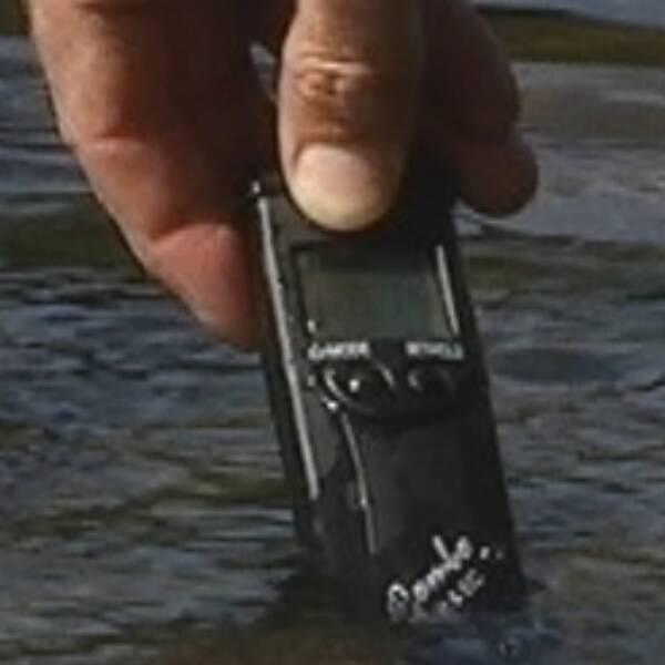 Instrument att mäta halter av Ecoli i vatten med, miljöchef i Åre Jasna Lindberg