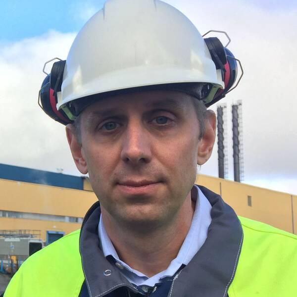 Erik Bohman är affärsutvecklingschef på Ovako i Hällefors.