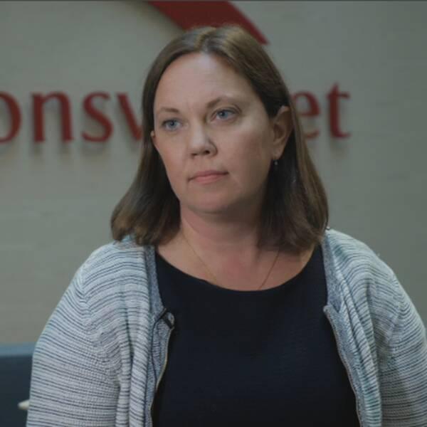 Johanna Lindblad Ó Duinnin, rättslig expert på Migrationsverket.
