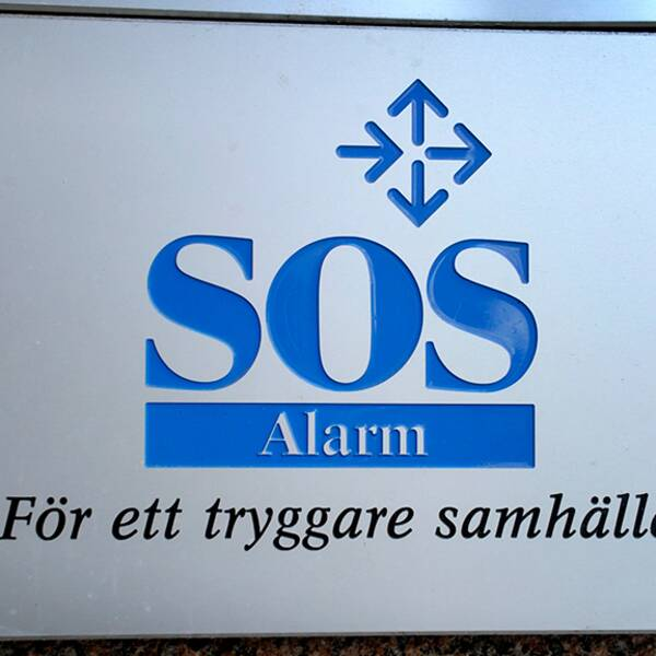 SOS Skylt