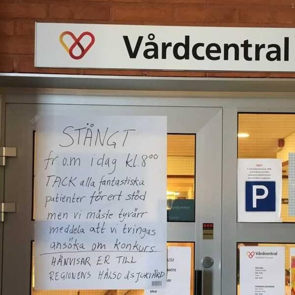 Bild på Voons stängda vårdcentral