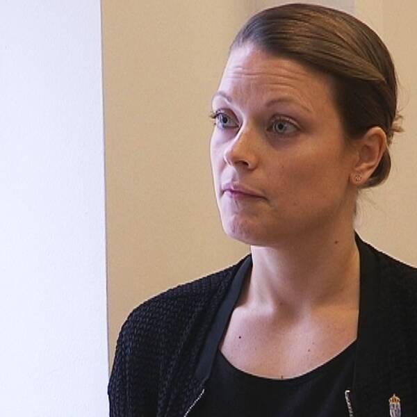 Anna Modig, chef på länsstyrelsen