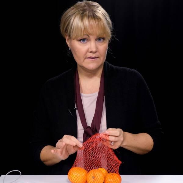 SVT:s medicinreporter Josefin Lennen Merckx