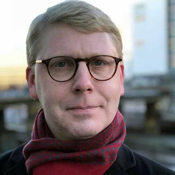 Kristoffer Tamsons (M), trafikregionråd i Stockholms stad.