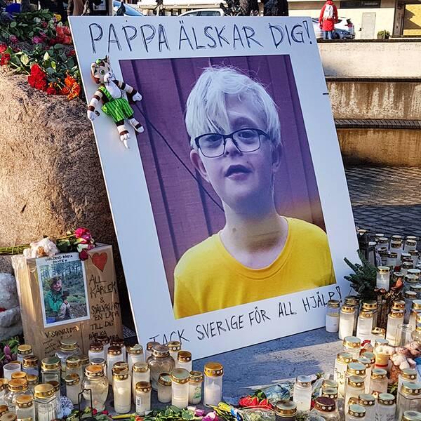 Dante, 12-åring försvann
