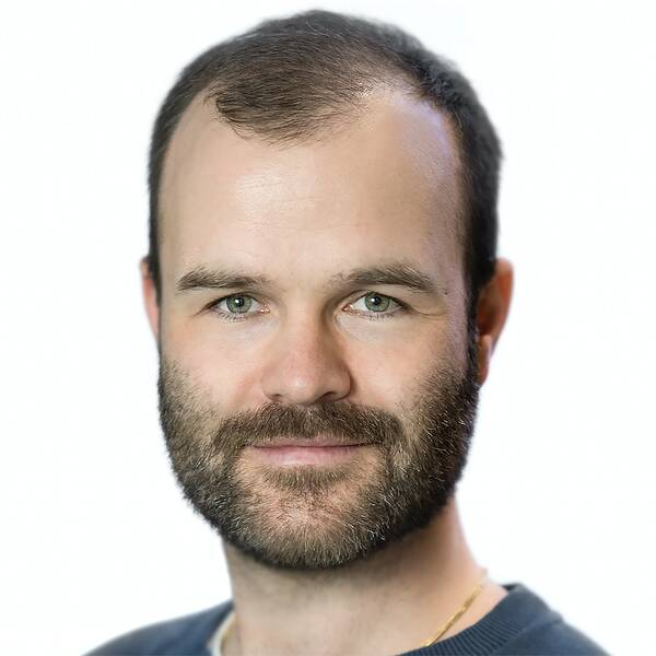 Jonas Larsson, lektor på Textilhögskolan i Borås.