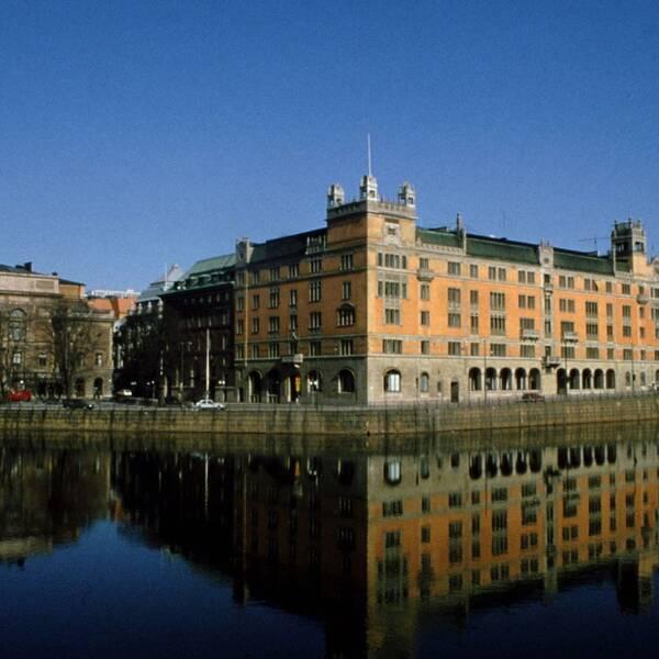 Regeringskansliet i Stockholm.