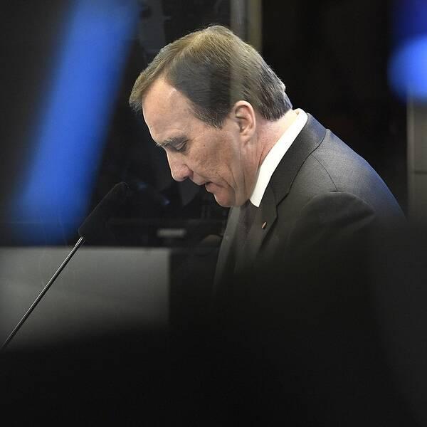 Nej till Löfven som statminister