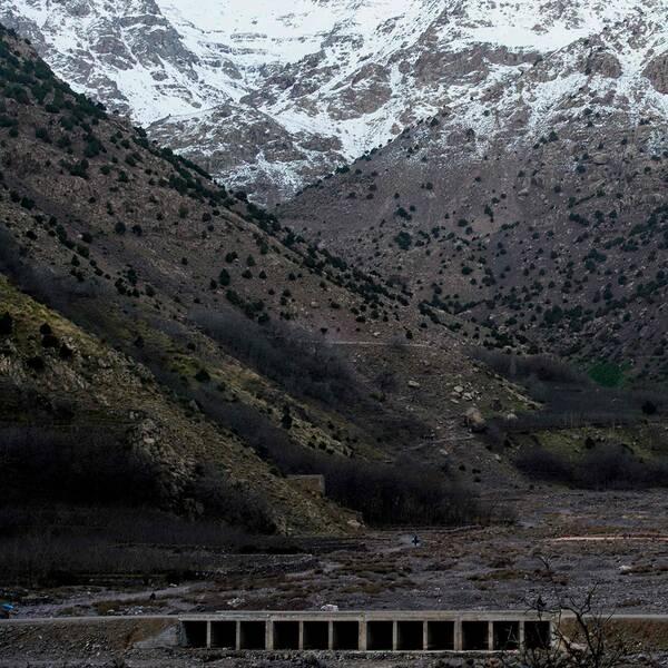 Atlasbergen i närheten av turistbyn Imlil i Marocko. De mördade kvinnorna hittades en mil från byn.