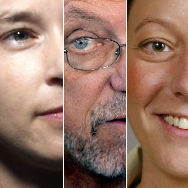 Regeringens sex nya ministrar