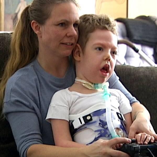 Amadeus, 4, behöver hjälp att andas dygnet runt