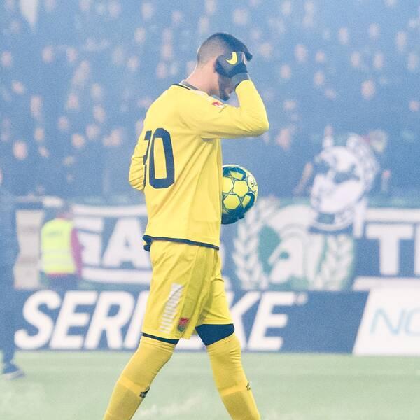 Markop Johansson missar dagens match mellan IFK Göteborg och Gais.