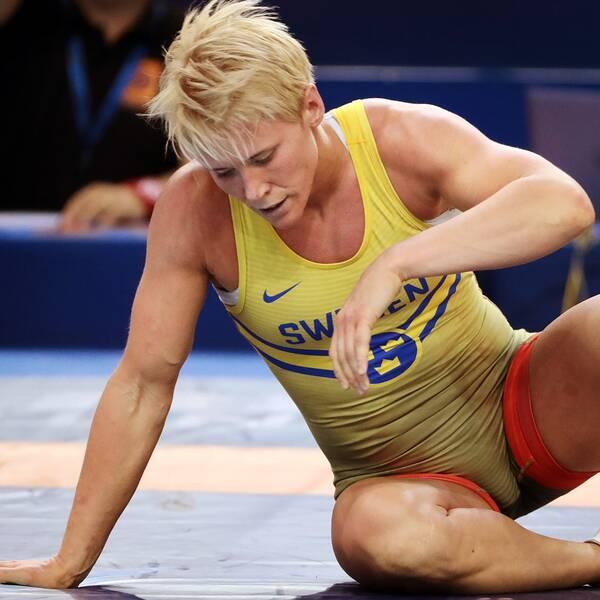 Jenny Fransson förlorade i kvartsfinalen.