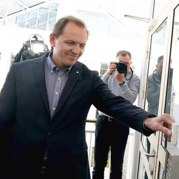 Yngve Carlsen, ordförande för norska pilotfacket.