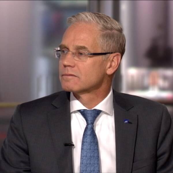 Rickard Gustafson, vd på SAS