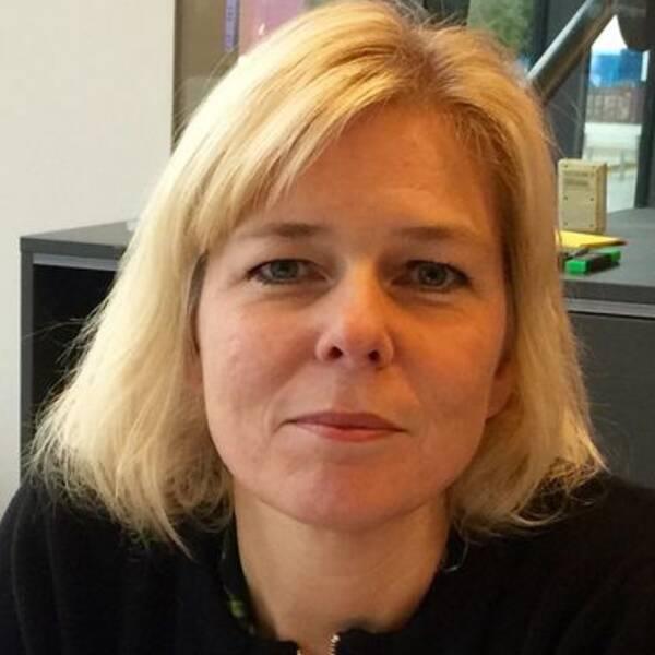 Josefin Ziegler, redaktionschef och ansvarig utgivare SVT Nyheter Väst