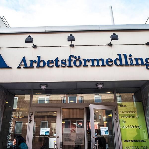 Arbetsförmedlingen i Norrköping.