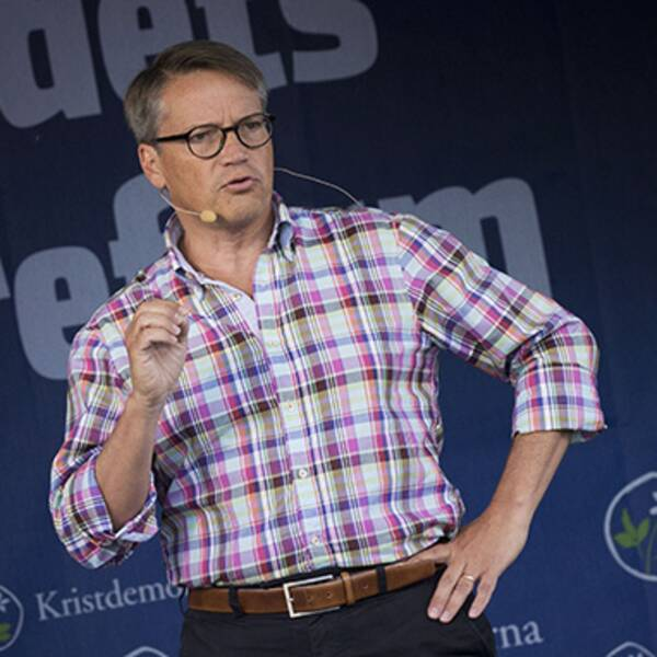 KD:s partiledare Göran Hägglund.