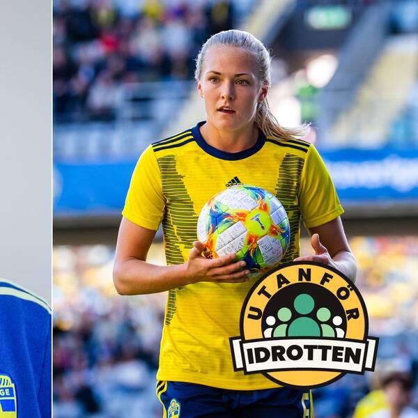 Nilla Fischer och Magdalena Eriksson.