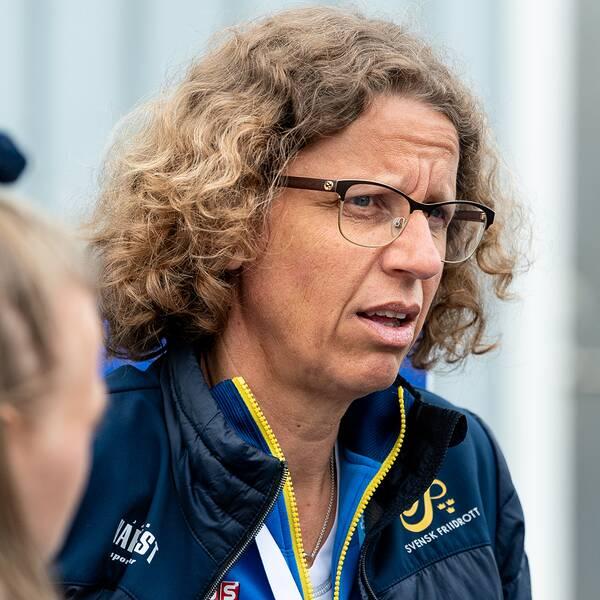 Sveriges förbundskapten Karin Torneklint.
