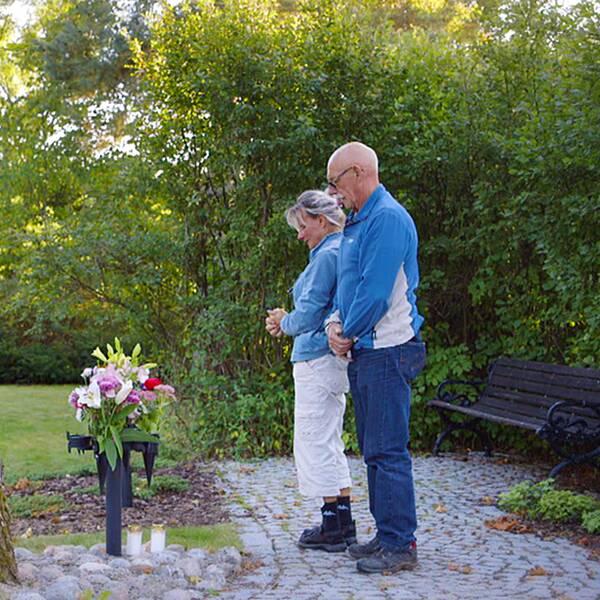 Stig och Dorota Holm förlorade sin son som begick självmord när han var 31 år.