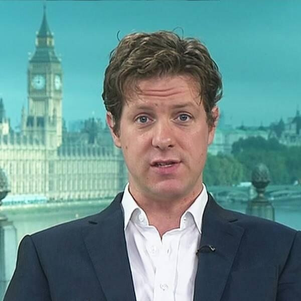 Fraser Nelson, chefredaktör för den konservativa tidningen The Spectator, intervjuas i Agenda.