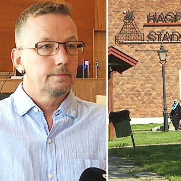 Tomas Pettersson (S) gör ingen hemlighet av att han är besviken på valresultatet