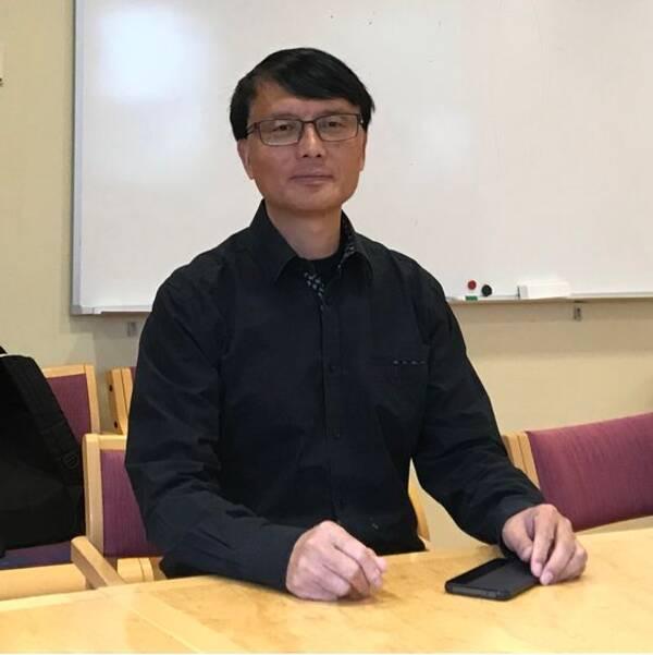 Deliang Chen är klimatforskare och professor vid Göteborgs universitet.