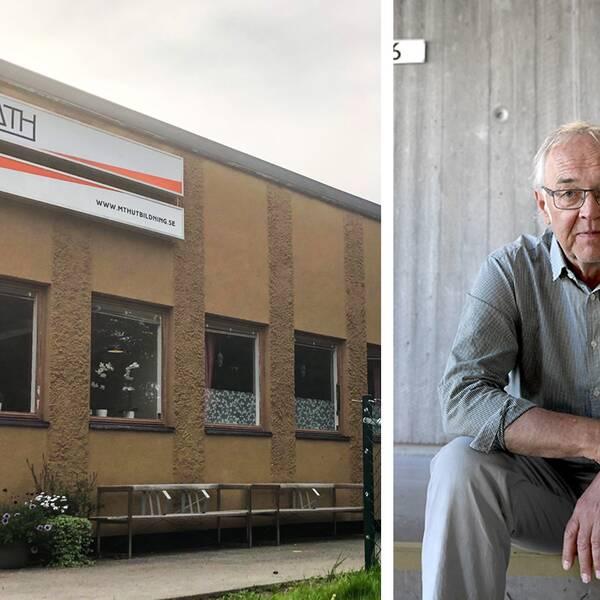 Nils Funcke, expert på tryck- och yttrandefrihetsfrågor. MTH-skolan i Hudiksvall