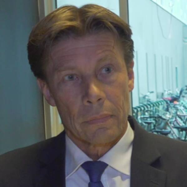 SAS flygchef Rolf Bakken