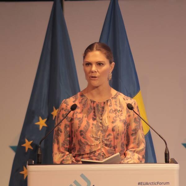 Kronprinsessan Victoria, EU Arctic Forum i Umeå 2019