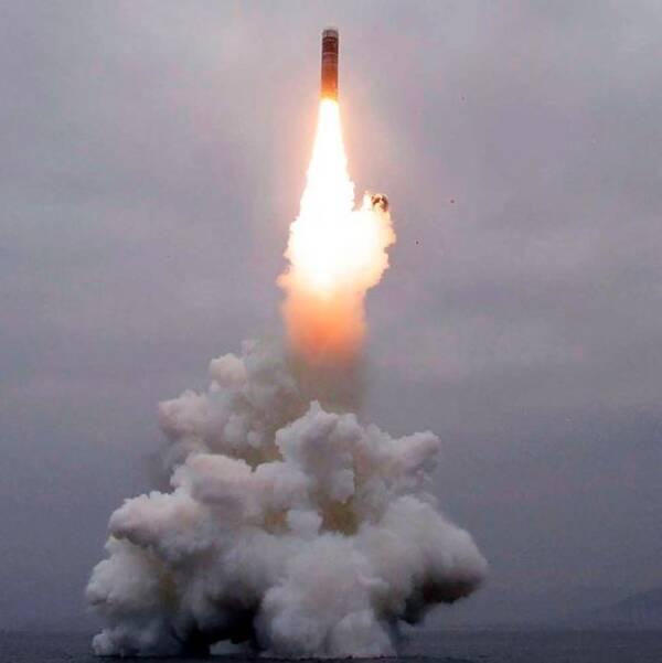 ARKIVBILD: Avfyrning av missiler