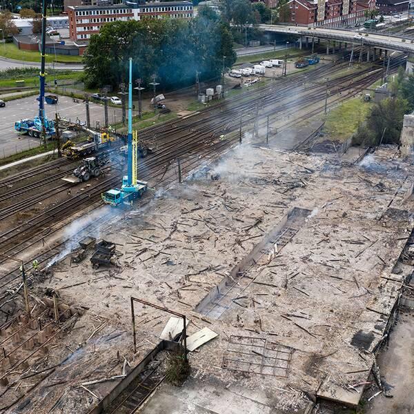 Storbranden i Hässleholm