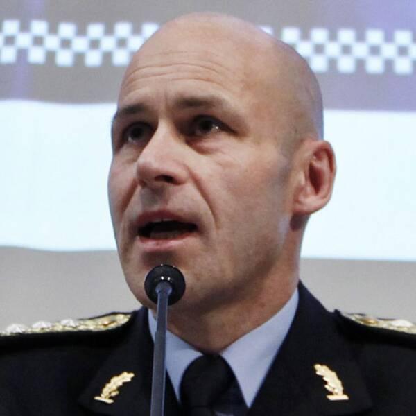Norges polisdirektör Öystein Maeland