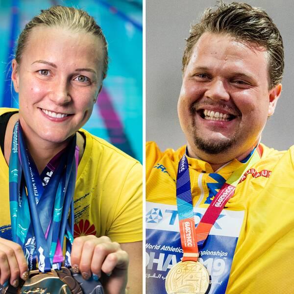 Armand Duplantis, Sarah Sjöström och Daniel Ståhl har fått OS-biljetter.