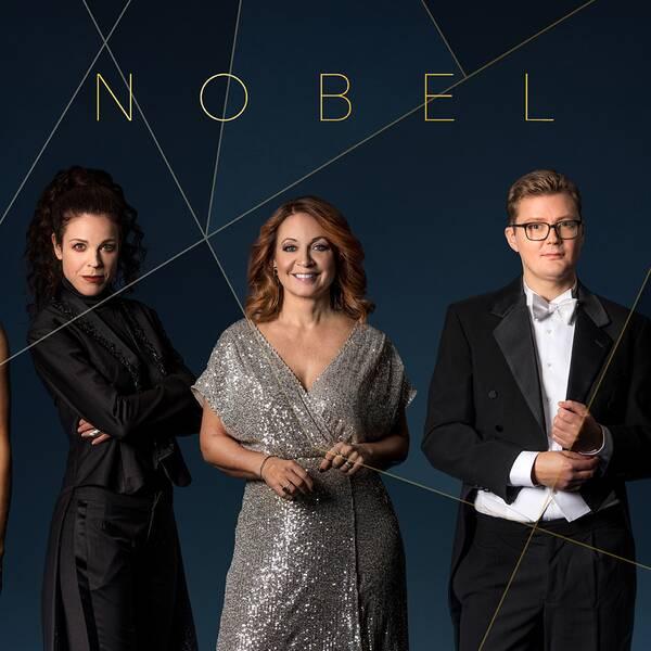 Victoria Dyring, Jessika Gedin, Pernilla Månsson Colt, Gustav Källstrand och Cecilia Gralde.