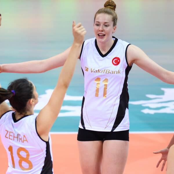 Isabelle Haak imponerade när klubblags-VM inleddes.