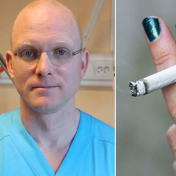 läkare och rökning
