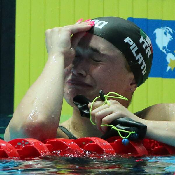 Benedetta Pilato vann EM-guld och slog sitt eget juniorvärldsrekord.